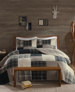 Woolrich Winter Hills Reversible 3-Pc. Oversized Full/Queen Quilt Mini Set