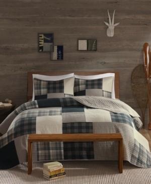 Woolrich Winter Hills Reversible 3-Pc. Oversized King/California King Quilt Mini Set