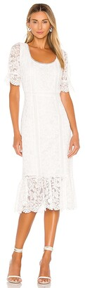 BB Dakota Just In Lace Midi Dress