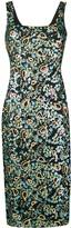 ALEXACHUNG Alexa Chung sequin embroidered dress