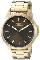 Vestal Unisex HEI3M12 Heirloom Analog Display Quartz Gold Watch