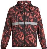 The Upside Ultra tie-dye print running jacket