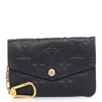 Louis Vuitton Key Pouch Monogram Empreinte Noir Black