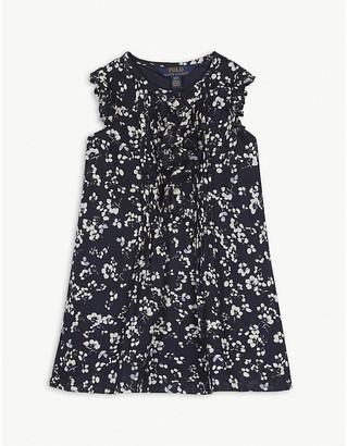 Ralph Lauren Floral print cotton dress 2-12 years