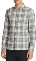 Todd Snyder Plaid Regular Fit Button Down Shirt