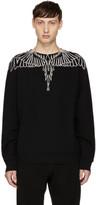 Marcelo Burlon County of Milan Black and White Anne Sweatshirt