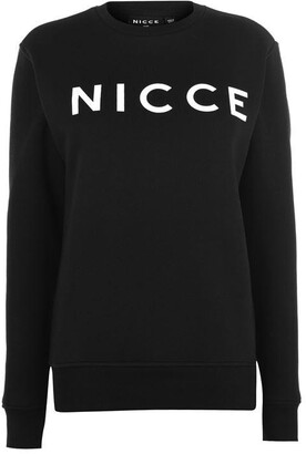 Nicce Logo Sweat Womens
