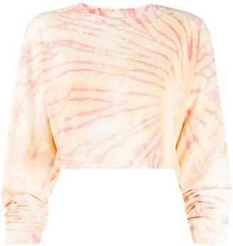 Cotton Citizen Tie-Dye Cotton Sweatshirt