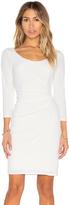 Velvet by Graham & Spencer Gini Stretch Jersey 3/4 Sleeve Dress