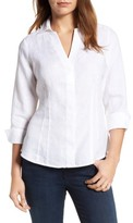 Foxcroft Women's Linen Chambray Shirt