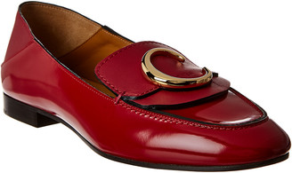 Chloé C Leather Loafer