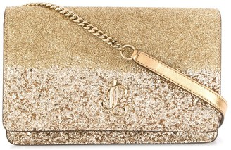 Jimmy Choo logo plaque Palace cross body bag