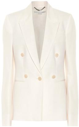 Stella McCartney Wool-crApe blazer