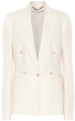 Stella McCartney Wool-crepe blazer