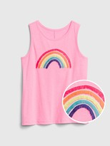 Gap Kids Embroidered Tank Top