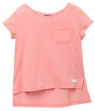 7 For All Mankind High-Low T-Shirt (Little Girls)