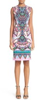 Roberto Cavalli Women's Print Sheath Dress