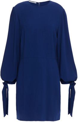 Stella McCartney Bow-detailed Crepe Mini Dress
