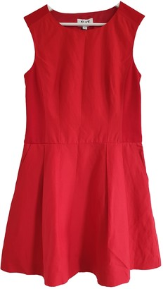 ALICE by Temperley Red Linen Dress for Women