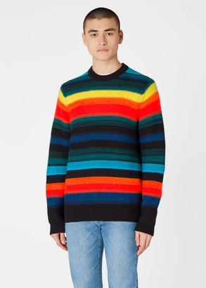 Paul Smith Men's 'Horizon' Stripe Wool-Blend Sweater
