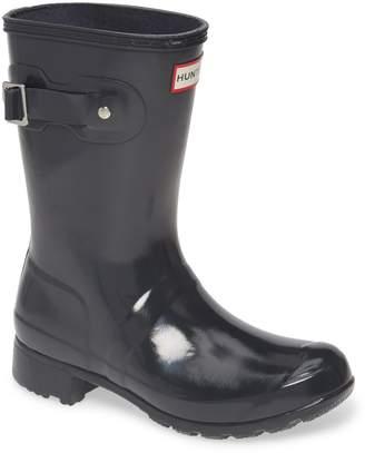Hunter Tour Short Gloss Packable Rain Boot