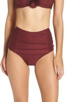 Kate Spade Women's High Waist Bikini Bottoms