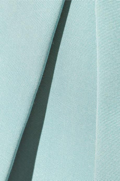 Tibi Katia cotton and silk-blend faille skirt