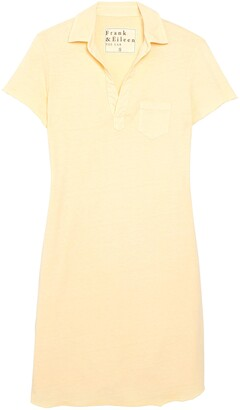 Frank And Eileen Tee Lab Short Sleeve Cotton Polo Dress