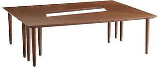 Arteriors Lottie Coffee Table - Walnut