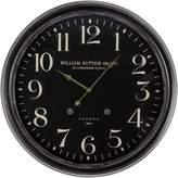 Casa Uno William Sutton London Wall Clock, 62cm