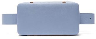 Lutz Morris Evan Grained-leather Belt Bag - Light Blue