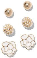 New York & Co. Goldtone Post Earring Set