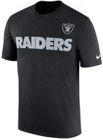 Nike Men's Oakland Raiders Legend Sideline Team T-Shirt