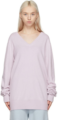 Extreme Cashmere Purple Cashmere N162 Claim Sweater