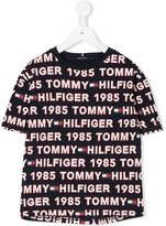 Tommy Hilfiger Junior all-over logo T-shirt