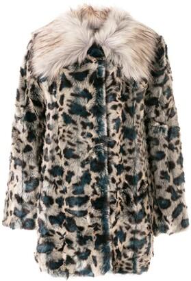 Unreal Fur Leopard Faux-Fur Coat