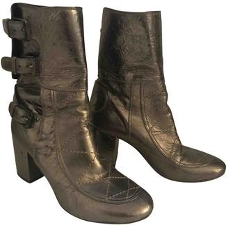 Laurence Dacade Metallic Leather Boots