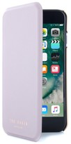 Ted Baker Shannon Iphone 6/6S/7/8 & 6/6S/7/8 Plus Mirror Folio Case - Purple