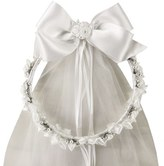 Sorbet Communion Wreath With Removable Veil