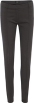 Oxford River Slimline Trousers Gunmetal X