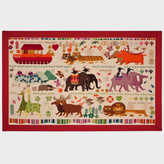Paul Smith for The Rug Company - Noah's Ark Needlepoint Wallhanging