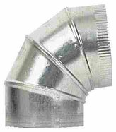 Imperial Star Mfg Group GV0299-C Galvanized Adjustable Elbow
