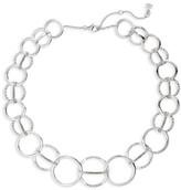 Judith Jack Women's Silver Sparkle Collar Necklace