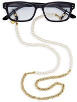Corinne McCormack Simulated Pearl Glasses Chain, 29