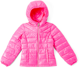 Roper Pink Puffer Jacket - Girls