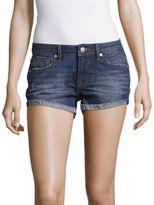 Vigoss Rollover-Cuff Denim Shorts