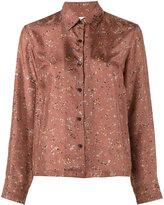 Dries Van Noten Cakung printed blouse