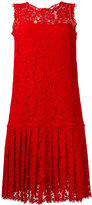 Ermanno Scervino pleated lace dress
