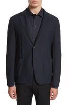 Emporio Armani Men's Armani Collezioni Mesh Knit Jacket