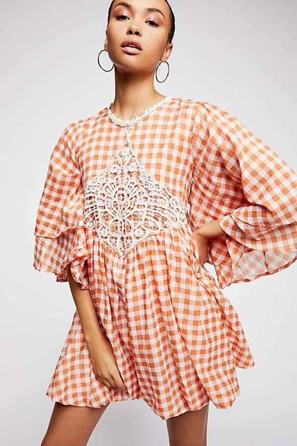 Bali Moonlight And Rose Mini Dress